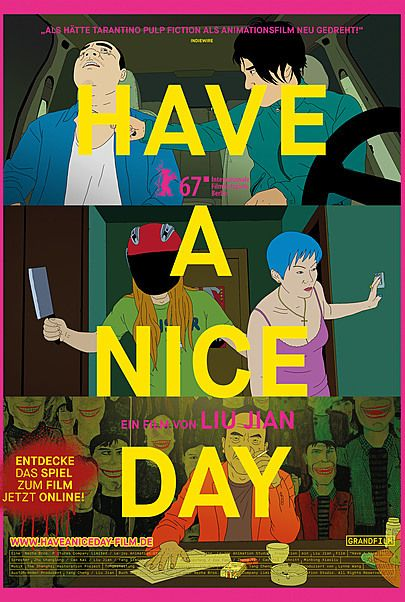 """Movie poster for """"Have a Nice Day"""""""