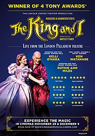 "Movie poster for ""The King and I: From the London Palladium"""