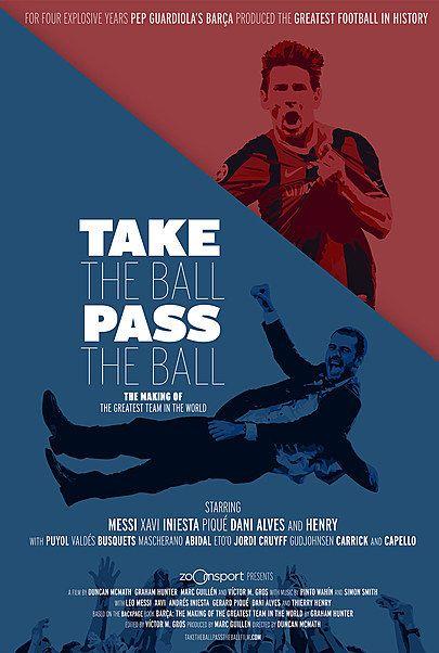 """Filmplakat für """"Take The Ball Pass The Ball"""""""