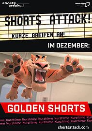"Filmplakat für ""Shorts Attack - Golden Shorts (Der Kurzfilmtag 2018)"""
