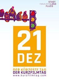 """Filmplakat für """"Der Kurzfilmtag 2018"""""""