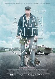 "Movie poster for ""A MAN CALLED OVE"""