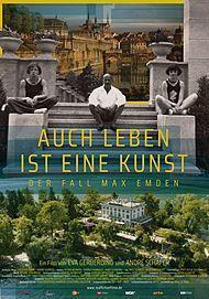 """Filmplakat für """"Auch Leben ist eine Kunst - Der Fall Max Emden"""""""