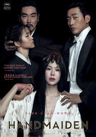 "Movie poster for ""THE HANDMAIDEN"""