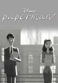 "Movie poster for ""PAPERMAN"""