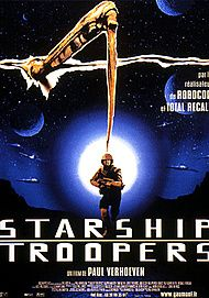 "Movie poster for ""STARSHIP TROOPERS"""