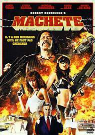 "Movie poster for ""MACHETE"""