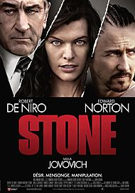 "Movie poster for ""STONE"""