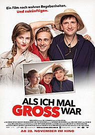 "Movie poster for ""Als ich mal groß war"""
