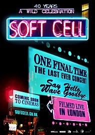 "Movie poster for ""SOFT CELL: ONE FINAL TIME"""
