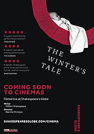 "Movie poster for ""THE WINTER'S TALE (SHAKESPEARE'S GLOBE 2018)"""
