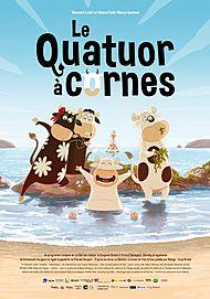 """Movie poster for """" LE QUATUOR A CORNES"""""""