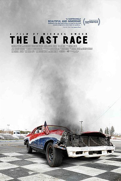 """Movie poster for """"THE LAST RACE"""""""