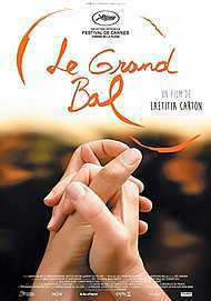 "Movie poster for ""THE GRAND BALL"""
