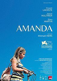 "Movie poster for ""AMANDA"""