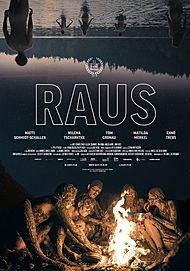 "Movie poster for ""Raus"""