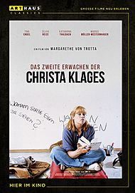 """Filmplakat für """"DAS ZWEITE ERWACHEN DER CHRISTA KLAGES"""""""