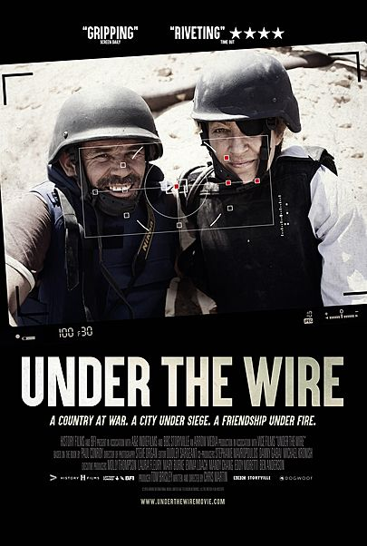 "Movie poster for ""UNDER THE WIRE"""