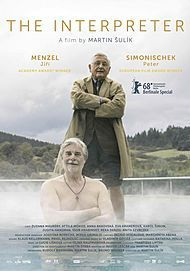 """Movie poster for """"THE INTERPRETER"""""""