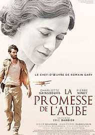 "Movie poster for ""PROMISE AT DAWN"""