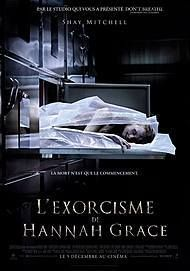 """Movie poster for """"THE POSSESSION OF HANNAH GRACE"""""""