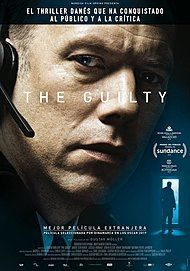 """Movie poster for """"THE GUILTY"""""""