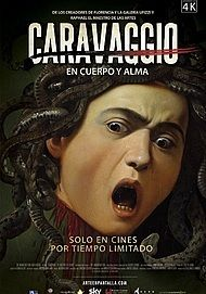 """Movie poster for """"CARAVAGGIO: THE SOUL AND THE BLOOD"""""""