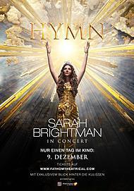 """Filmplakat für """"HYMN: Sarah Brightman in Concert"""""""