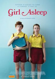 "Movie poster for ""GIRL ASLEEP"""