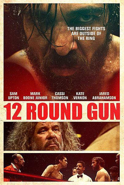 """Movie poster for """"12 ROUND GUN"""""""