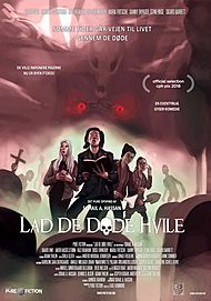 "Movie poster for ""LAD DE DØDE HVILE"""