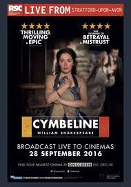"Movie poster for ""RSC Live: CYMBELINE"""