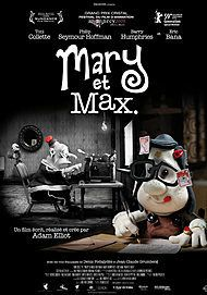 "Movie poster for "" MARY AND MAX"""