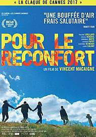 """Movie poster for """"COMFORT AND CONSOLATION IN FRANCE """""""