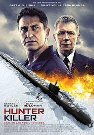 """Movie poster for """"HUNTER KILLER"""""""