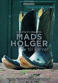 Plakat for MADS HOLGER - TIL FARVEL