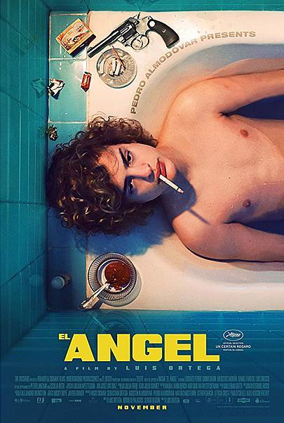 """Movie poster for """"THE ANGEL"""""""