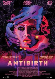 "Movie poster for ""ANTIBIRTH"""