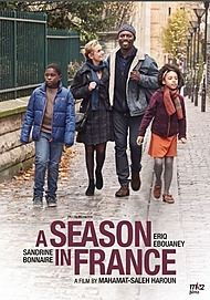 "Movie poster for ""A SEASON IN FRANCE"""