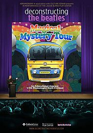 """Movie poster for """"DECONSTRUCTING THE BEATLES: MAGICAL MYSTERY TOUR"""""""