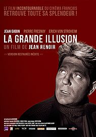 """Movie poster for """"THE GRAND ILLUSION"""""""