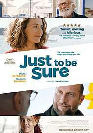 """Movie poster for """"JUST TO BE SURE"""""""
