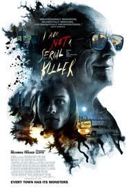 "Movie poster for ""I AM NOT A SERIAL KILLER"""