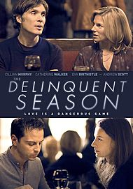 "Movie poster for ""THE DELINQUENT SEASON"""