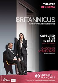 """Movie poster for """"BRITANNICUS (COMEDIE FRANCAISE / PATHE LIVE)"""""""