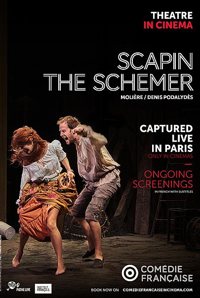 "Movie poster for ""SCAPIN THE SCHEMER - COMEDIE FRANCAISE"""