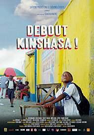 """Movie poster for """"WAKE UP KINSHASA"""""""
