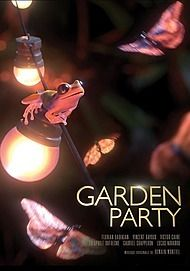 """Movie poster for """"GARDEN PARTY"""""""