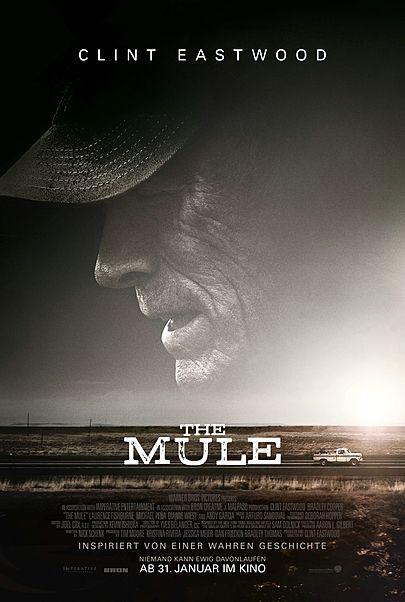 """Filmplakat für """"THE MULE"""""""
