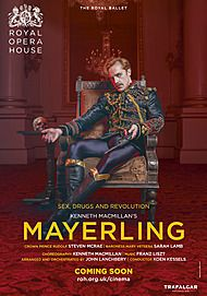 "Movie poster for ""MAYERLING (ROYAL OPERA HOUSE)"""